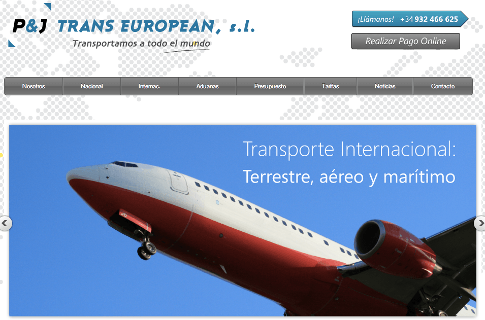 Empresa de Transportes en Barcelona