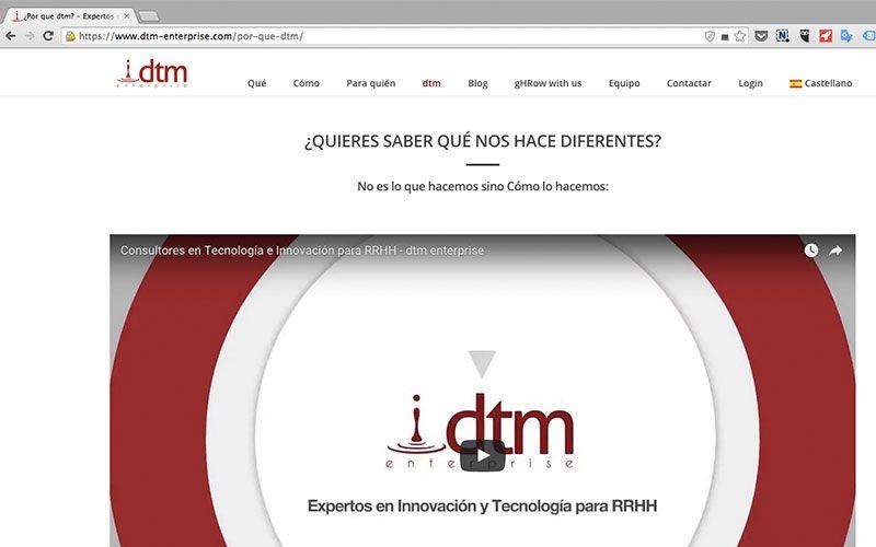 dtm enterprise - expertos en innovación de tecnología para recursos humanos